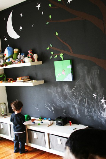 chalkboard paint ideas crafts to do with kids. Black Bedroom Furniture Sets. Home Design Ideas