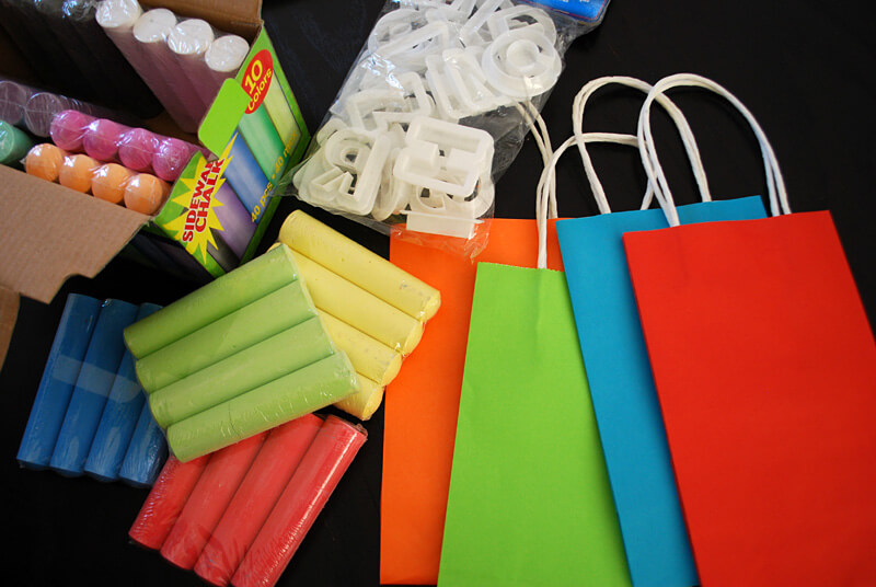 DIY Goodie Bags Home Party Ideas