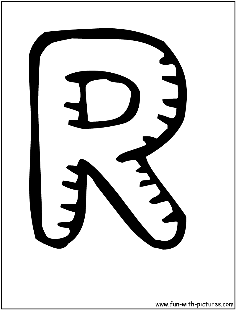 The Letter R In Bubble Letters | www.pixshark.com - Images ...