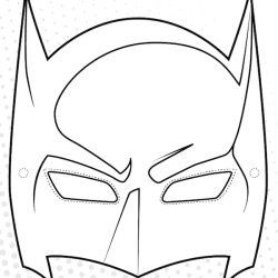 graphic relating to Printable Superhero Masks identified as Printable Superhero Masks - Crafts In the direction of Do With Small children