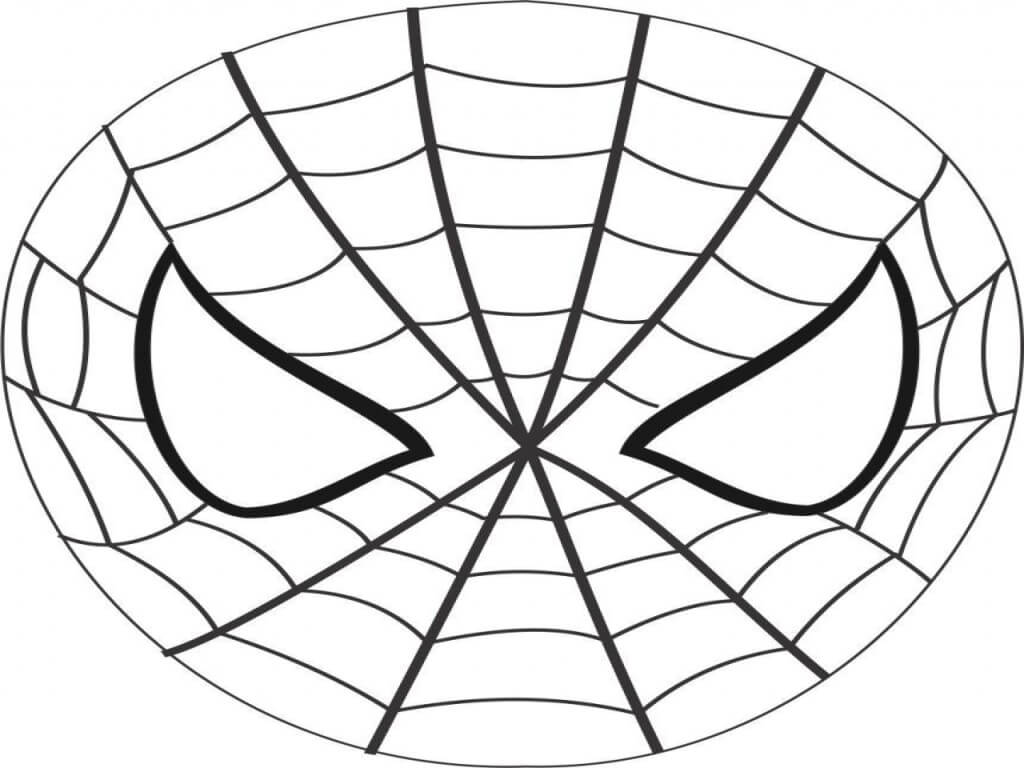 Spiderman mask - Crafts To Do With Kids