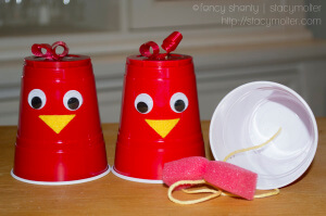 Fun craft for toddlers