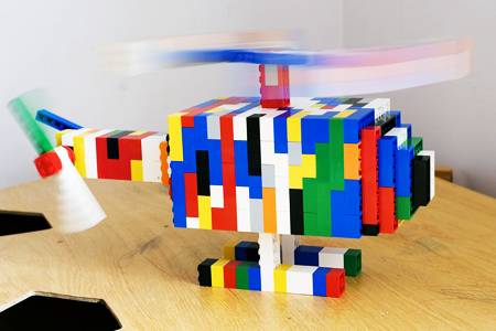 Ultra cool LEGO copter