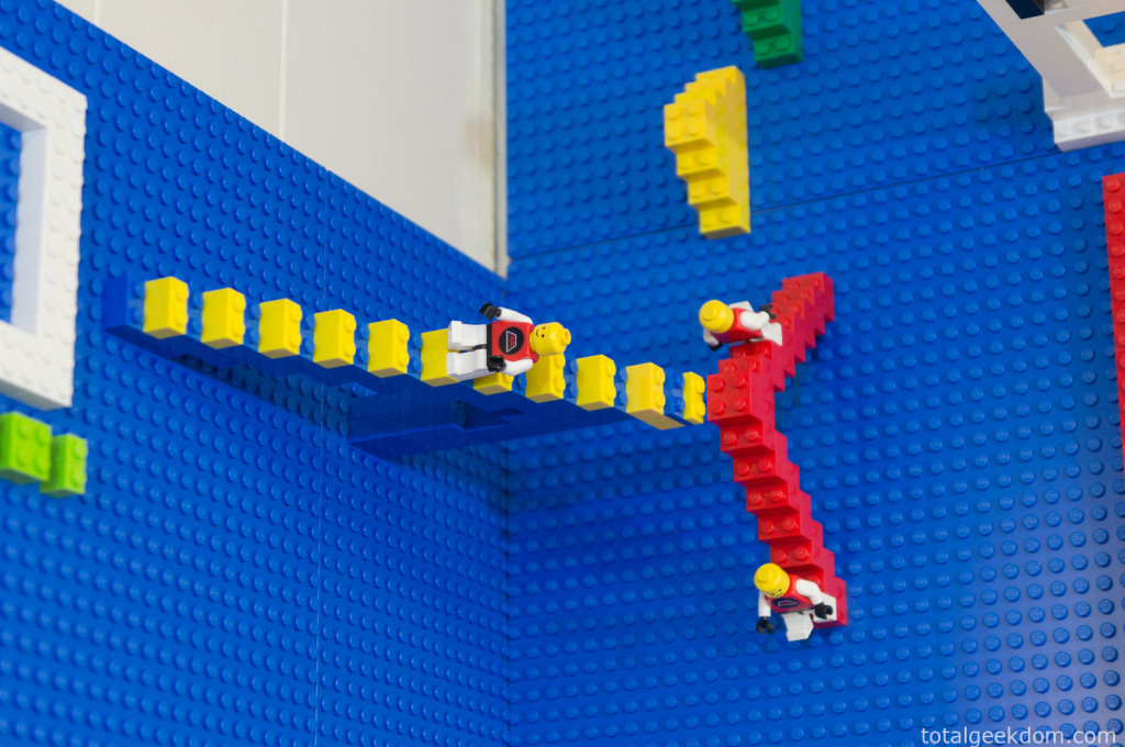 Crazy Lego Wall - Would be a child's dream