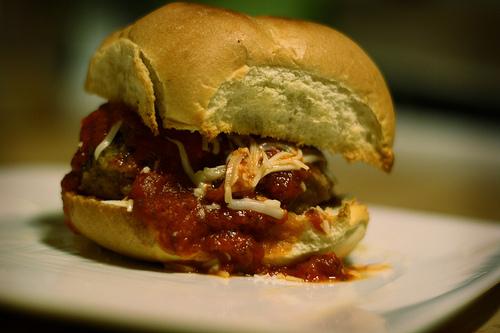 Bite Size Meatball Sandwiches